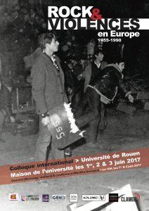 Affiche Rock et violences en Europe