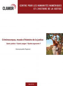 Couverture rapport Emmanuelle Papinot